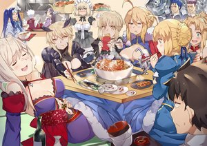 Rating: Safe Score: 17 Tags: animal archer arturia_pendragon arturia_pendragon_alter assassin blonde_hair blue_eyes blue_hair blush bow braids breasts brown_hair cleavage cu_chulainn dress drink fate/grand_order fate_(series) fish food fruit fujimaru_ritsuka_(male) green_eyes group headdress ice_cream jeanne_d'arc_alter jeanne_d'arc_(fate) long_hair maid male minamoto_no_yorimitsu_(fate) miyamoto_musashi_(fate/grand_order) mordred nanaya_(daaijianglin) navel ponytail purple_hair red_eyes ribbons saber saber_alter short_hair strawberry tagme_(character) white_hair wristwear yellow_eyes User: RyuZU
