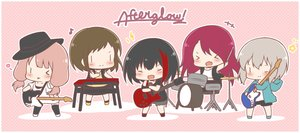 Rating: Safe Score: 10 Tags: aoba_moka bang_dream! black_hair brown_hair chibi drums fang gray_hair group guitar hat hazawa_tsugumi instrument long_hair microphone mitake_ran mitarashi_neko music piano pink_hair red_hair short_hair shorts thighhighs twintails udagawa_tomoe uehara_himari wink User: otaku_emmy
