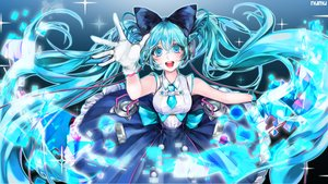 Rating: Safe Score: 11 Tags: hatsune_miku long_hair magical_mirai_(vocaloid) numu twintails vocaloid watermark User: luckyluna
