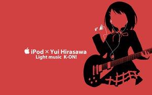 Rating: Safe Score: 26 Tags: hirasawa_yui ipod k-on! kisoba red silhouette User: anaraquelk2