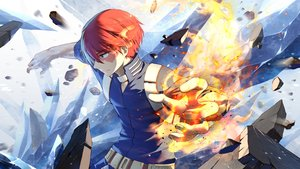 Rating: Safe Score: 15 Tags: all_male boku_no_hero_academia fire lilithbloody magic male todoroki_shouto User: FormX