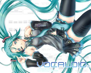Rating: Safe Score: 39 Tags: hatsune_miku thighhighs twintails vocaloid User: Oyashiro-sama