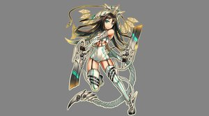 Rating: Safe Score: 71 Tags: aqua_eyes brown_hair gia original swimsuit sword underboob weapon User: FoliFF