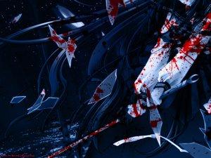 Rating: Questionable Score: 82 Tags: azuma_hazuki blood blue carnelian sword weapon yami_to_boushi_to_hon_no_tabibito User: Oyashiro-sama