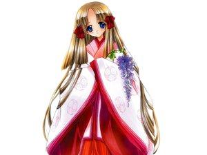 Rating: Safe Score: 12 Tags: azuma_hatsumi carnelian japanese_clothes miko white yami_to_boushi_to_hon_no_tabibito User: 秀悟