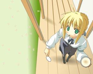 Rating: Safe Score: 9 Tags: artoria_pendragon_(all) fate_(series) fate/stay_night saber User: Oyashiro-sama
