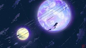 Rating: Safe Score: 96 Tags: clouds macnaut moon night nobody original scenic signed sky stars User: STORM