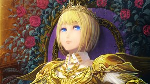 Rating: Safe Score: 29 Tags: armor blonde_hair blue_eyes crown flowers original rose senko_doki short_hair User: FormX