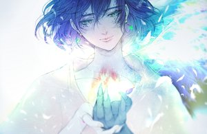 Rating: Safe Score: 22 Tags: all_male howl howl's_moving_castle male polychromatic satsuki_kei sketch User: FormX