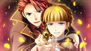 Rating: Safe Score: 21 Tags: aqua_eyes beatrice blonde_hair gun male petals red_hair short_hair tagme_(artist) umineko_no_naku_koro_ni ushiromiya_battler weapon User: RyuZU
