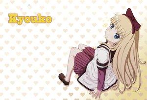 Rating: Safe Score: 36 Tags: blonde_hair blue_eyes long_hair school_uniform third-party_edit toshinou_kyouko yukiyo_(otca202) yuru_yuri User: SciFi