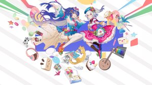 Rating: Safe Score: 25 Tags: balusah bili_bili_douga bili_girl_22 bili_girl_33 blue_hair book bow dress food glasses gray_hair hat headphones instrument long_hair red_eyes ribbons short_hair User: Maboroshi