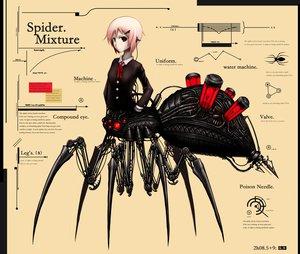 Rating: Questionable Score: 97 Tags: anthropomorphism gia original pink_hair red_eyes robot short_hair User: Glamurio