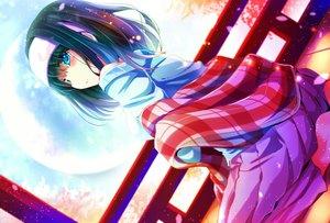 Rating: Safe Score: 151 Tags: barefoot black_hair blue_eyes headband idolmaster idolmaster_cinderella_girls moon natsu_(anta_tte_hitoha) sagisawa_fumika User: Flandre93