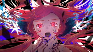 Rating: Safe Score: 79 Tags: blood close ghost_rule_(vocaloid) kyou_kzn miki_(vocaloid) pink_hair red_eyes vocaloid User: FormX