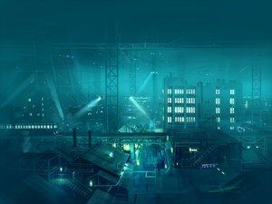 Rating: Safe Score: 140 Tags: building city final_fantasy final_fantasy_vii night scenic seo_tatsuya train User: HawthorneKitty