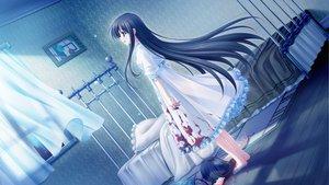 Rating: Safe Score: 153 Tags: 2girls black_hair blood cabbit crying dress game_cg long_hair michiru_(midori_no_umi) midori_no_umi night saeki_hokuto tears User: Katsumi