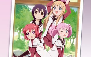 Rating: Safe Score: 48 Tags: akaza_akari blonde_hair blue_eyes blush brown_eyes funami_yui long_hair pink_hair purple_eyes purple_hair school_uniform short_hair toshinou_kyouko twintails wink yoshikawa_chinatsu yuru_yuri User: meccrain