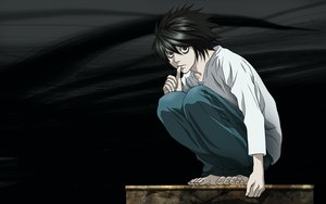 Rating: Safe Score: 35 Tags: all_male death_note jpeg_artifacts l male User: happygestapo