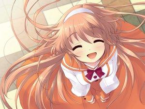 Rating: Safe Score: 22 Tags: alice_parade brown_hair headband hitorimeno_alice itou_noiji long_hair unisonshift User: Oyashiro-sama