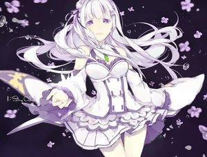 Rating: Safe Score: 93 Tags: breasts cleavage collar emilia flowers long_hair miyuki_(hananooni) purple_eyes re:zero_kara_hajimeru_isekai_seikatsu skirt tears water white_hair User: IchimaruSakai