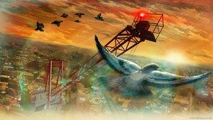 Rating: Safe Score: 105 Tags: animal bird building city clouds landscape nobody original scenic sky sunset tanaka_ryosuke User: Flandre93