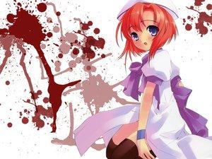 Rating: Safe Score: 27 Tags: blood higurashi_no_naku_koro_ni itou_noiji ryuuguu_rena User: Oyashiro-sama