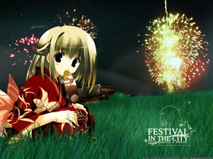 Rating: Safe Score: 6 Tags: festival fireworks mitsumi_misato User: Oyashiro-sama