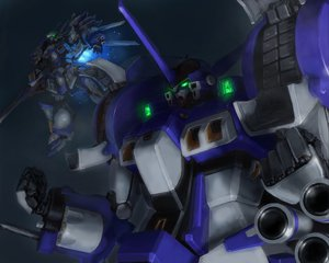 Rating: Safe Score: 38 Tags: alteisen mecha robot super_robot_wars weissritter User: Kulag