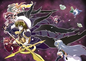 Rating: Safe Score: 14 Tags: agito_(mahou_shoujo_lyrical_nanoha_strikers) mahou_shoujo_lyrical_nanoha mahou_shoujo_lyrical_nanoha_strikers reinforce_zwei shamal signum vita yagami_hayate yuu-yuu zafira User: HawthorneKitty