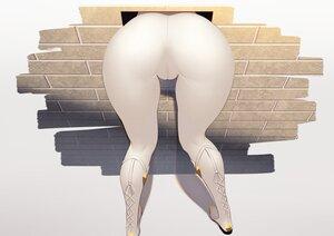 Rating: Questionable Score: 119 Tags: ass boots cameltoe genshin_impact hane_(15188414) jean_gunnhildr pantyhose User: BattlequeenYume
