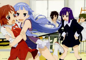 Rating: Safe Score: 28 Tags: aoba_tsugumi black_hair blue_eyes blue_hair brown_hair hibiki_daitetsu kannagi_crazy_shrine_maidens long_hair mikuriya_jin nagi purple_eyes purple_hair red_eyes scan short_hair zange User: Xtea
