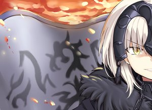 Rating: Safe Score: 28 Tags: blonde_hair chain close fate/grand_order fate_(series) headdress i.f.s.f jeanne_d'arc_alter jeanne_d'arc_(fate) short_hair yellow_eyes User: RyuZU