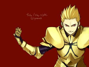 Rating: Safe Score: 3 Tags: fate_(series) fate/stay_night gilgamesh red User: Oyashiro-sama