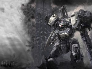 Rating: Safe Score: 83 Tags: armored_core mecha User: Kulag