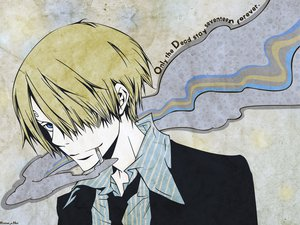 Rating: Safe Score: 18 Tags: cigarette one_piece sanji smoking User: Moony
