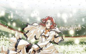 Rating: Safe Score: 11 Tags: blue_eyes dress esther_blanchett flowers petals red_hair trinity_blood User: Maboroshi