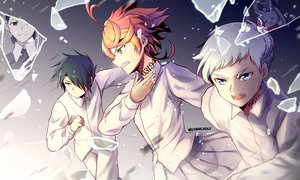 Rating: Safe Score: 8 Tags: aqua_eyes black_hair conny_(yakusoku_no_neverland) emma_(yakusoku_no_neverland) gray_hair green_eyes male meilynn-hayakan mom_(yakusoku_no_neverland) norman_(yakusoku_no_neverland) orange_hair ray_(yakusoku_no_neverland) short_hair yakusoku_no_neverland User: RyuZU