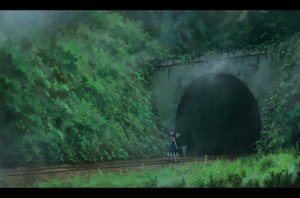 Rating: Safe Score: 142 Tags: bow cirno dark dress fairy grass hat leaves sasajqazwsx scenic touhou train User: FormX