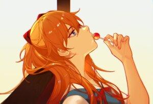 Rating: Safe Score: 36 Tags: blue_eyes candy close jesse_(pixiv34586727) lollipop long_hair neon_genesis_evangelion orange_hair ribbons school_uniform soryu_asuka_langley twintails User: otaku_emmy