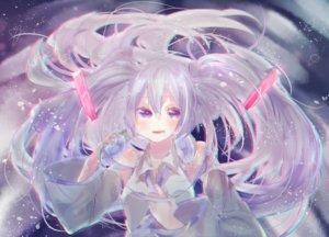 Rating: Safe Score: 30 Tags: hatsune_miku long_hair twintails vocaloid User: luckyluna