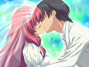 Rating: Safe Score: 25 Tags: angel_wish chitose_mizuki favorite game_cg long_hair male red_hair wedding wedding_attire User: ホタル