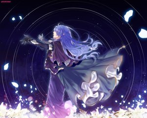 Rating: Safe Score: 68 Tags: braids cape crying dress fate_(series) fate/stay_night flowers gloves km_(kyoma0) long_hair medea_(fate) petals purple_hair signed User: Tensa