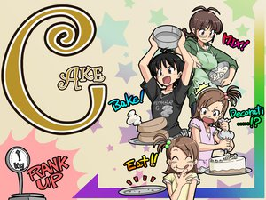Rating: Safe Score: 3 Tags: akizuki_ritsuko futami_ami futami_mami idolmaster kikuchi_makoto twins User: Kunimura