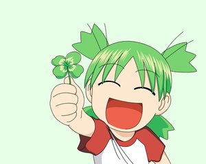 Rating: Safe Score: 17 Tags: green koiwai_yotsuba yotsubato! User: Oyashiro-sama