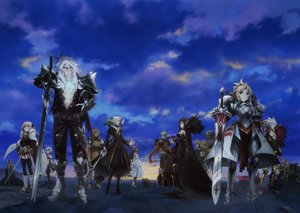 Rating: Safe Score: 52 Tags: achilles armor astolfo atalanta_(fate) blonde_hair boots braids chiron clouds fate/apocrypha fate_(series) frankenstein garter_belt grass gray_hair jack_the_ripper karna long_hair male mordred pink_eyes pink_hair ponytail semiramis short_hair siegfried sky solomon_ibn_gabirol spartacus sword tagme_(artist) trap vlad_the_impaler weapon william_shakespeare User: RyuZU
