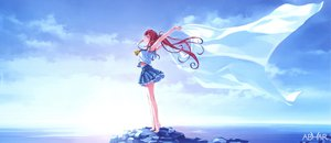 Rating: Safe Score: 117 Tags: abhar deep_blue_sky_&_pure_white_wings misaki_kurehito miyamae_tomoka sky User: van