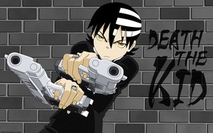 Rating: Safe Score: 51 Tags: death_the_kid gun soul_eater weapon User: jorge