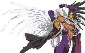 Rating: Safe Score: 40 Tags: aa_megami-sama long_hair scan urd wings User: shiki_tohno