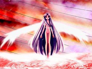 Rating: Questionable Score: 9 Tags: air hinoue_itaru jpeg_artifacts kanna kannabi_no_mikoto nude wings User: Oyashiro-sama
